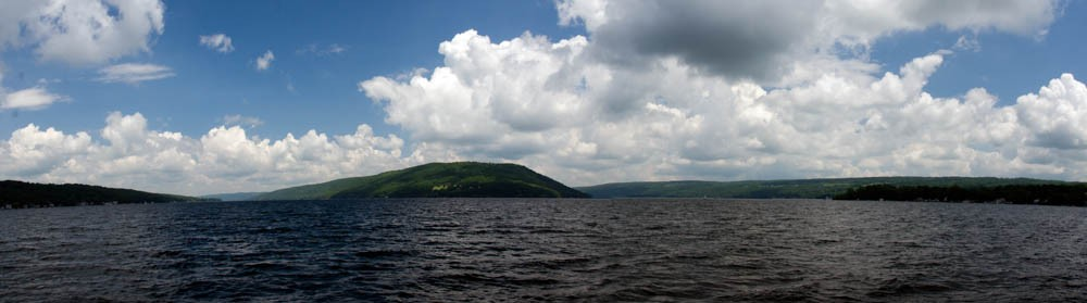 Keuka Lake from Town of Urbana